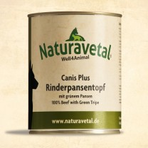 Canis Plus Rinderpansentopf - 820g